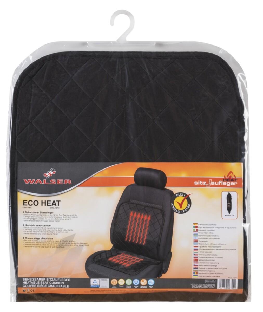 Bild 2 von Walser KFZ Heizsitzaufleger Eco Heat schwarz