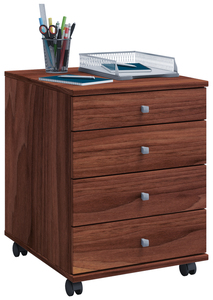 VCM Rollcontainer Lona Mini Kern-Nussbaum
