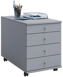 VCM Rollcontainer Lona Maxi grau
