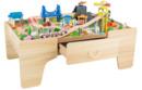 Bild 2 von Coemo Spieltisch Theo mit 100tlg. Holzeisenbahn