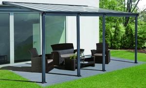 HC Home & Living Terrassenüberdachung 618 x 303 x 258 cm - Anthrazit