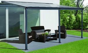 HC Home & Living Terrassenüberdachung 557 x 303 x 258 cm - Anthrazit