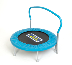 Sportspower Kinder- & Fitnesstrampolin mit Haltegriff Ø 92 cm