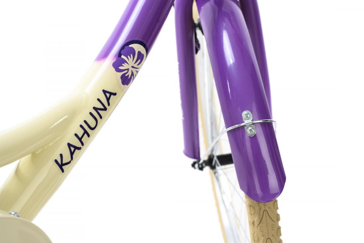 Bild 5 von KS Cycling Kinderfahrrad 24'' Kahuna beige-lila RH 36 cm