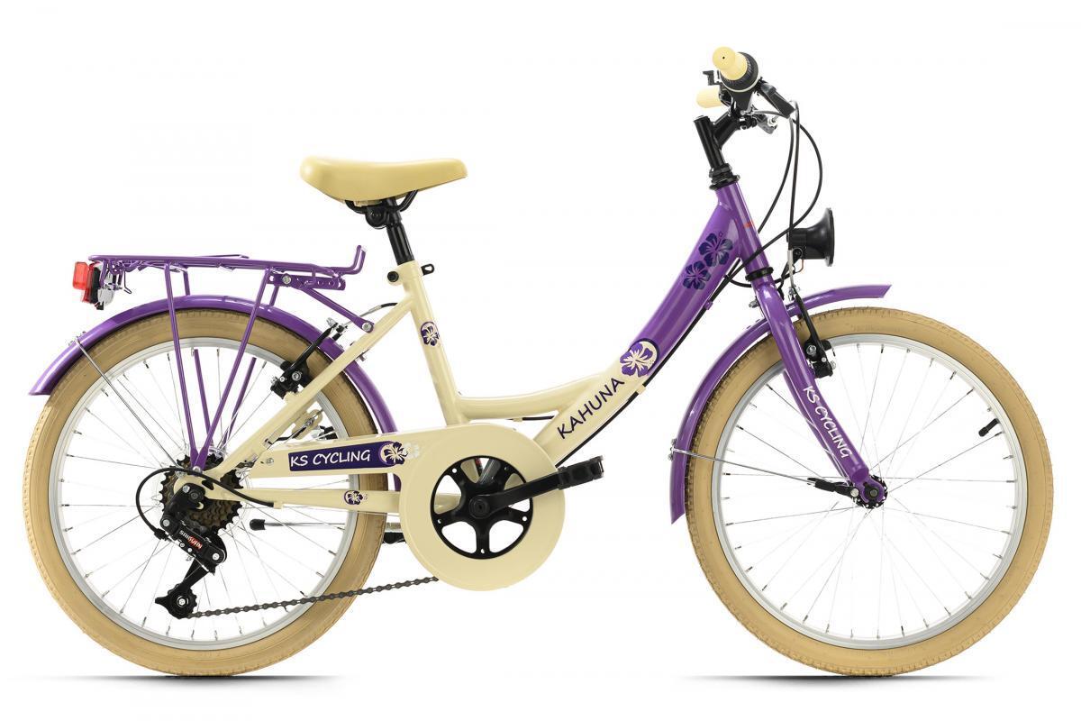 Bild 2 von KS Cycling Kinderfahrrad 20'' Kahuna beige-lila RH 34 cm