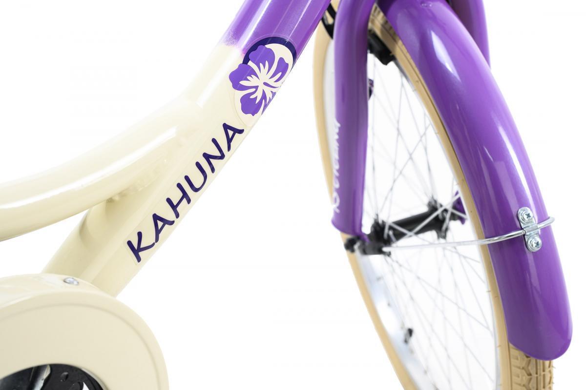 Bild 5 von KS Cycling Kinderfahrrad 20'' Kahuna beige-lila RH 34 cm