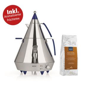 "BEEM Samowar Pyramid A4 4l 2500W Edelstahl inkl. 1 Packung ""Fruity Winter"" Tee"