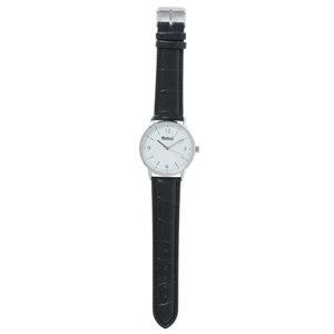 Weinberger Armbanduhr Quarz Glieder-Armband in Silberoptik Ø40 mm