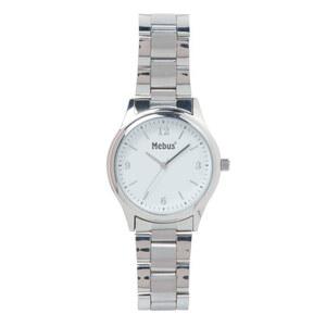 Weinberger Armbanduhr Quarz PU-Armband in Silberoptik Ø42 mm