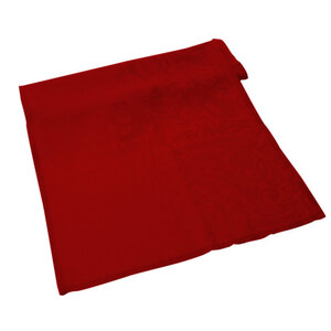 Tischläufer Jacquard 40 x 180 cm in Rot