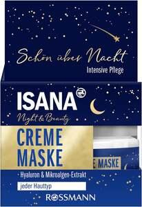 ISANA Night & Beauty Creme Maske