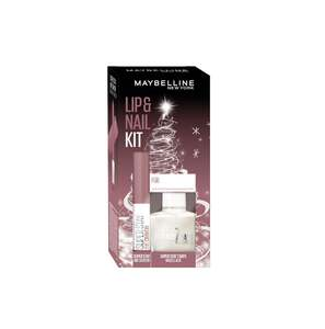 Maybelline New York X-Mas Set Super Stay Ink Crayon Nr. 10 + Super Stay 7 Days Nr. 77 Nagellack
