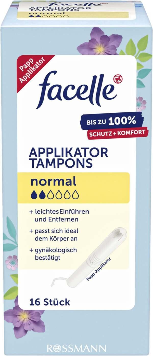 facelle Applikator Tampons normal