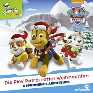 Paw Patrol – Die Paw Patrol rettet Weihnachten CD