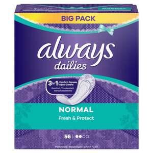 Always dailies Fresh & Protect Slipeinlagen Normal Big Pack