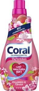 Coral Colorwaschmittel Kirschblüte & Pfirsich, 22 WL