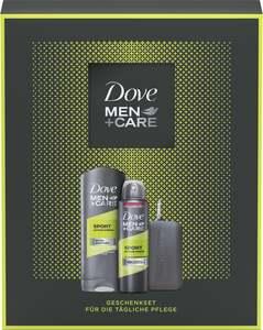 Dove Men+Care Geschenkset für die tägliche Pflege mit Sporthandtuch