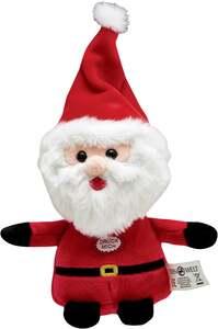 IDEENWELT Weihnachtsplüsch Weihnachtsman m. Sound