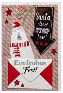 IDEENWELT Weihnachts-Grußkarten