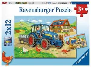 Ravensburger Ravensburger Kinderpuzzle 2x12 oder 3x49 sortiert