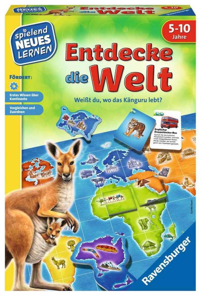 Bild 1 von Ravensburger Entdecke die Welt Kinderspiel