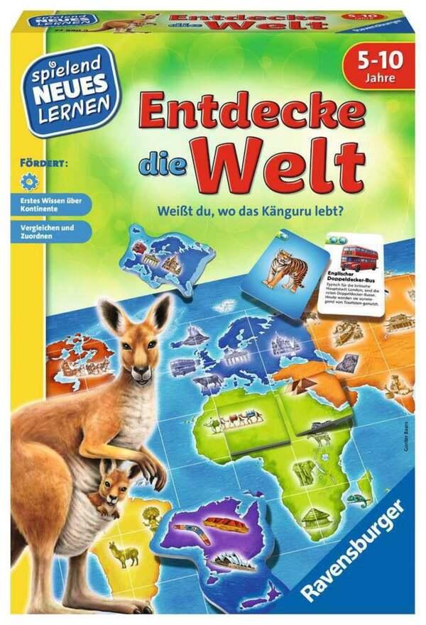 Ravensburger Entdecke die Welt Kinderspiel