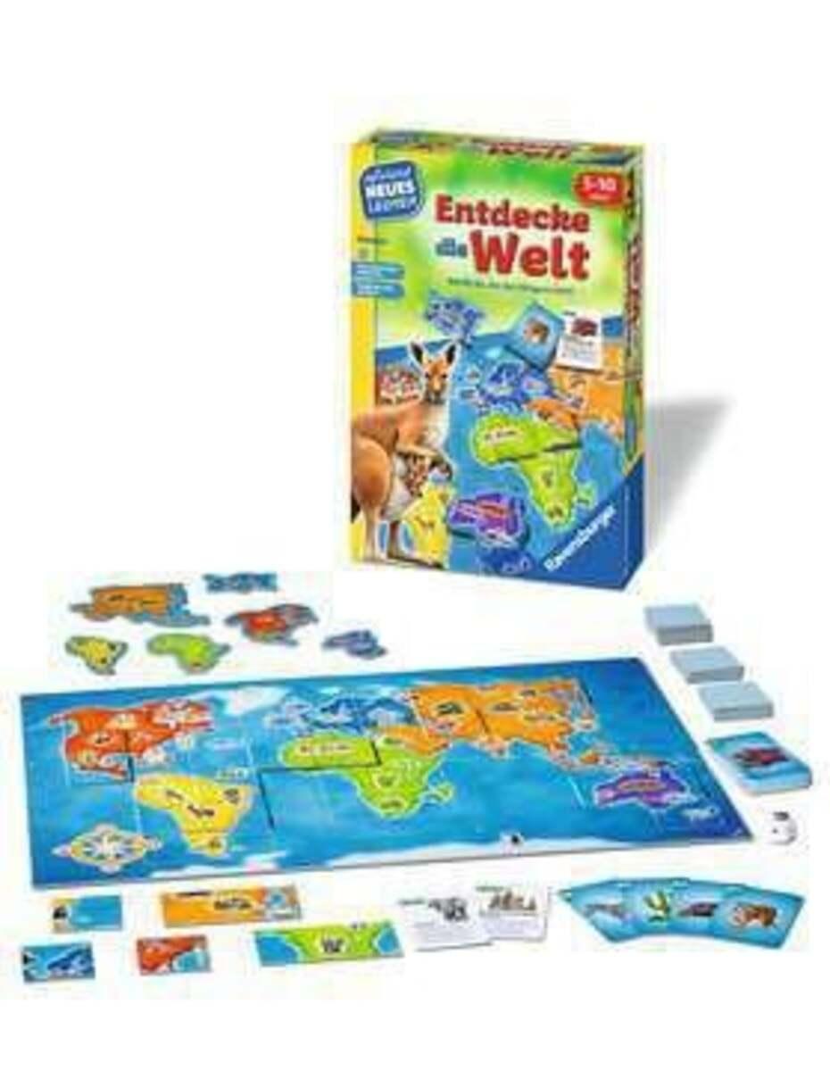 Bild 2 von Ravensburger Entdecke die Welt Kinderspiel