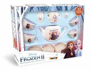 Smoby Toys Frozen Die Eiskönigin 2 Porzellan Teeservice