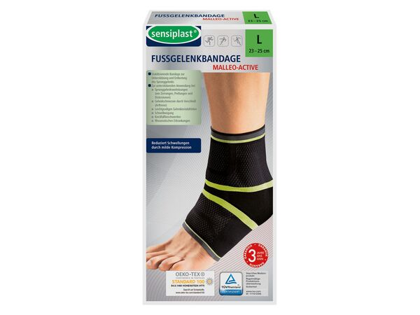 SENSIPLAST® Strumpfbandage, für Fußgelenke, mit eingearbeiteten Pelotten