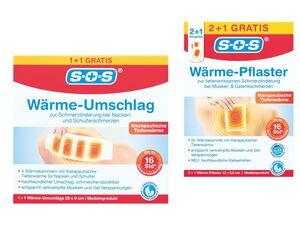 SOS Wärmepflaster/-umschläge