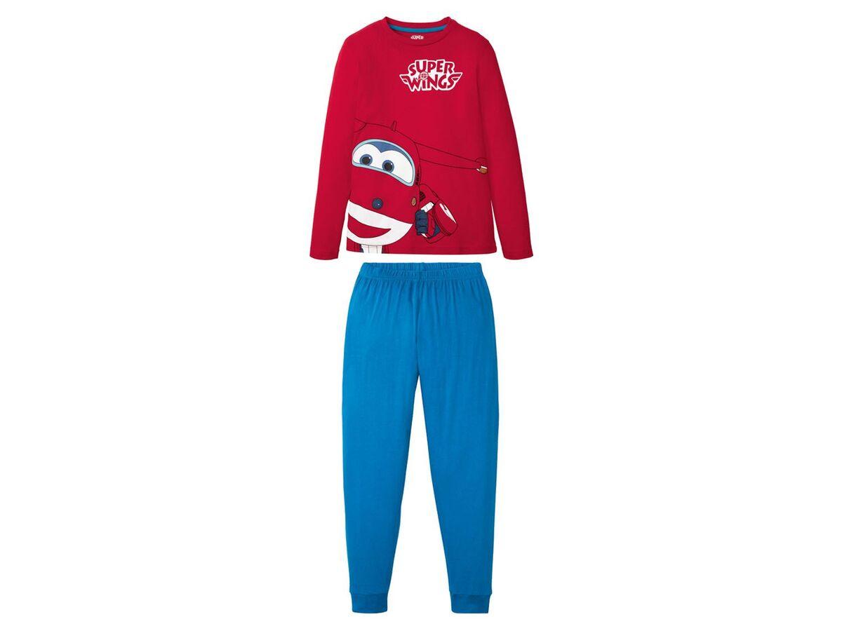Bild 2 von Kinder Schlafanzug Jungen, aus reiner Baumwolle