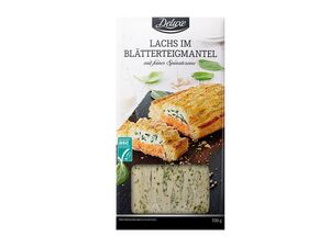 ASC Lachs in Blätterteigmantel