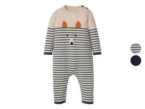 LUPILU® Baby Strickoverall Jungen, mit Bio-Baumwolle