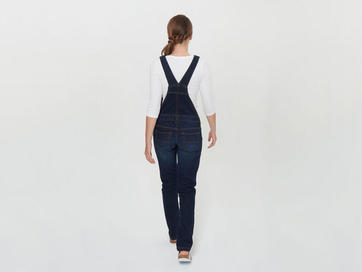 Bild 4 von ESMARA® PURE COLLECTION Damen Umstands-Latzhose, mit Bio-Baumwolle