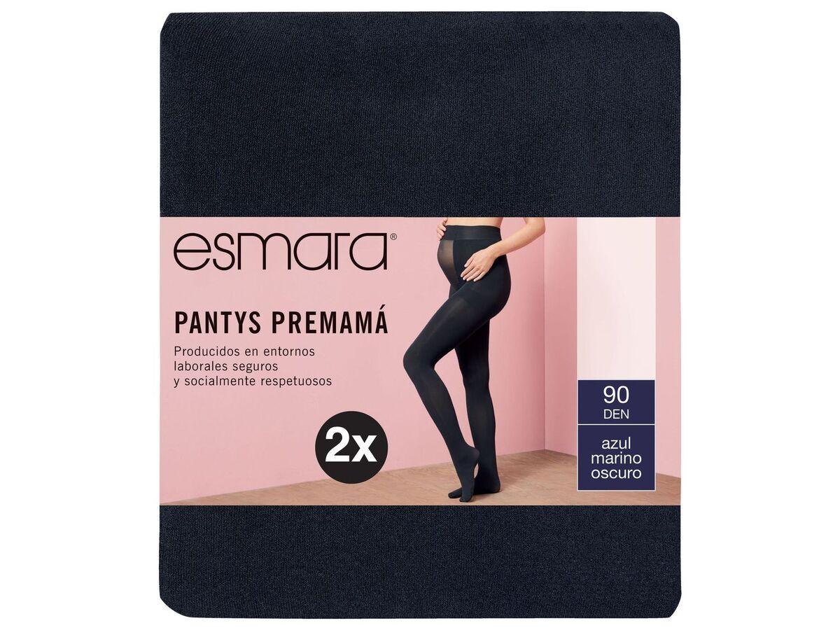 Bild 4 von ESMARA® Umstand-Feinstrumpfhose Damen, 2 Stück