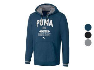 Puma Herren Kapuzenpullover, mit aufgesetzter Kängurutasche