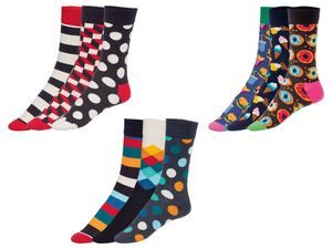 Happy Socks Socken 3er Box