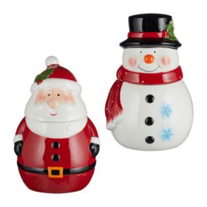 Weihnachtliche Keksdose