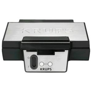 Krups Waffeleisen FDK251 Schwarz/Silber 850W