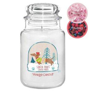 Yankee Candle Duftkerze im Glas Santa Paws 623g