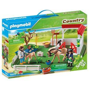 Playmobil SuperSet Koppel mit Pferdebox
