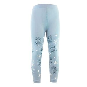 Kinder Lizenz Thermoleggings Frozen 2 blau 92/98