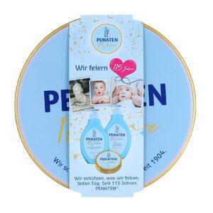 Penaten Baby Geschenkset Creme 50ml + Pflegelotion 400ml + Bad & Shampoo 400ml für Mädchen