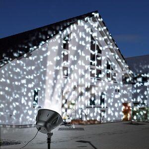 EASYmaxx LED-Strahler Schneeflocke 6W schwarz