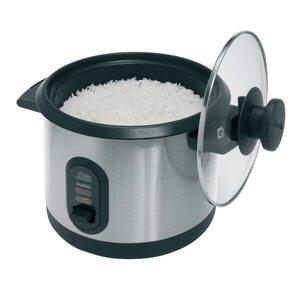 Solis 978.21 Rice Cooker 2in1 schwarz/edelstahl