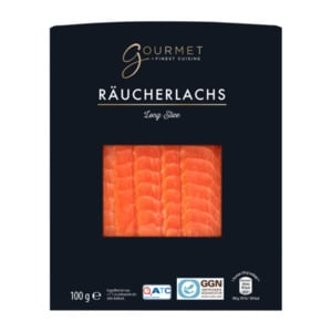 GOURMET  	   				Räucherlachs Long Slice