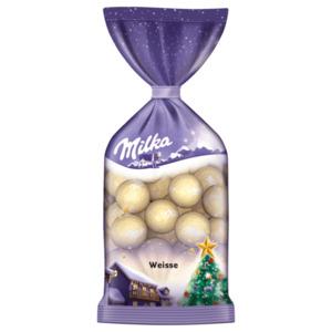 Milka Weihnachtskugeln weiss 100g