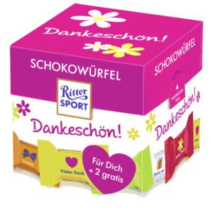 Ritter Sport Schokowürfel Dankeschön 192g