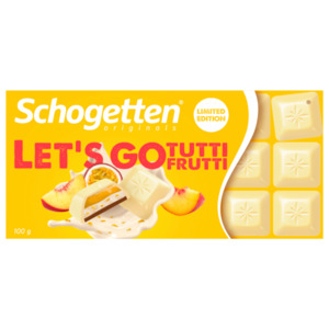 Schogetten Let's go Tutti Frutti 100g