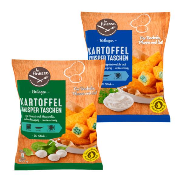 LA FINESSE     Kartoffel Knusper Taschen